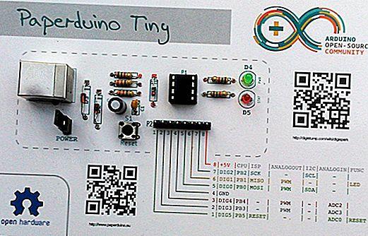 Будівництво Arduino з паперу