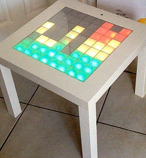 IKEA Hack Music Visualizer Table