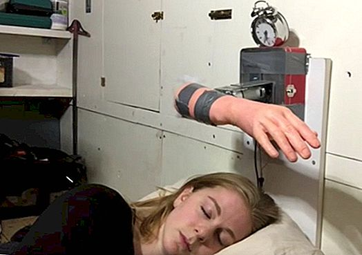 "Slap Yourself Awake with This Alarm Clock ""Alarm Clock"""