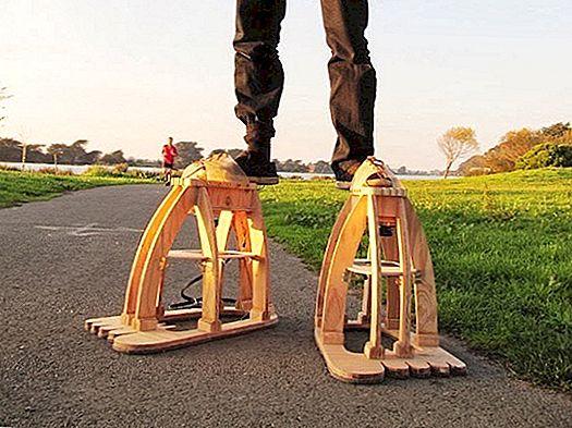 इन नेत्रगोलक पैर स्टिल्ट्स के साथ अदृश्य दिग्गज की किंवदंती जीते