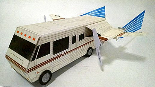 The Spaceballs Winnebago telah Dronified