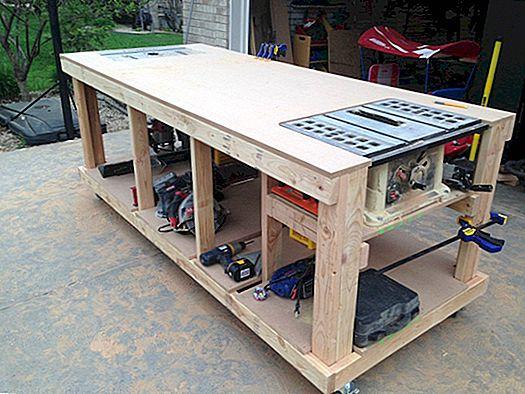 Construire votre propre établi en bois